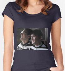 Arkham Nygmobblepot Women's Fitted Scoop T-Shirt