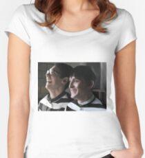Arkham Nygmobblepot Women's Fitted Scoop T-Shirt