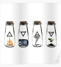 The 4 Elements Poster