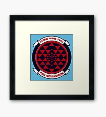 red squadron Framed Print