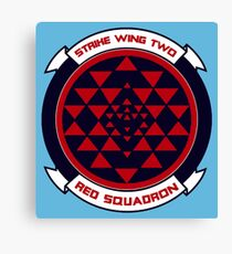 red squadron Canvas Print