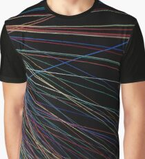 Colorful thread lines from a summer festival Graphic T-Shirt