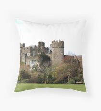 Malahide Castle Throw Pillow