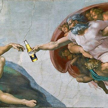 The Creation of Adam Beer Meme by jrjackson
