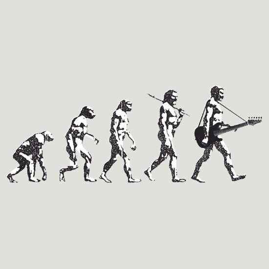 TShirtGifter presents: evolution of rock