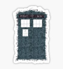 The Timey Wimey of The Doctor Sticker