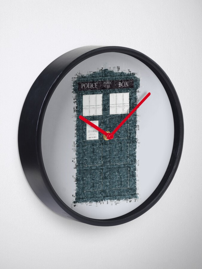 Alternate view of The Timey Wimey of The Doctor Clock