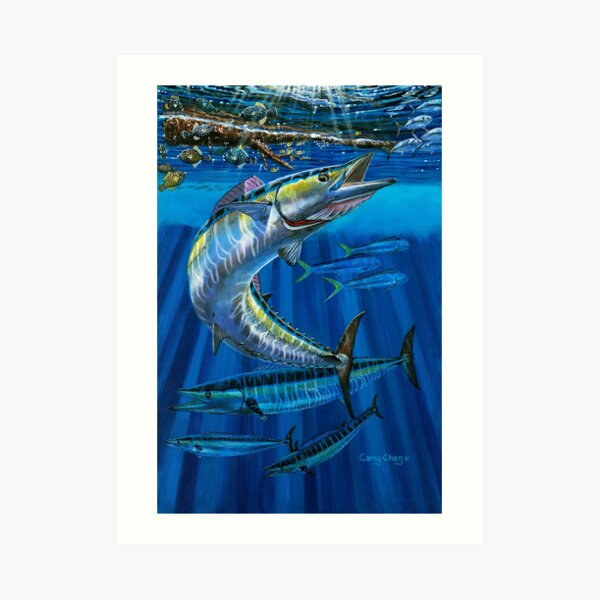 Wahoo Haven Art Print