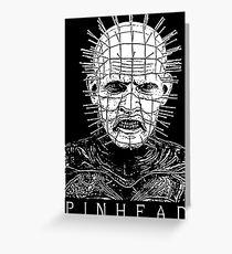 Pinhead Greeting Card