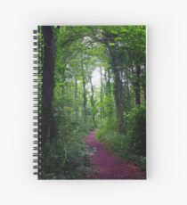 Enchanting woodland trial Spiral Notebook