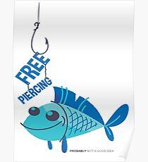 Free Piercing Poster