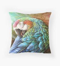 Rainbow Polly Throw Pillow