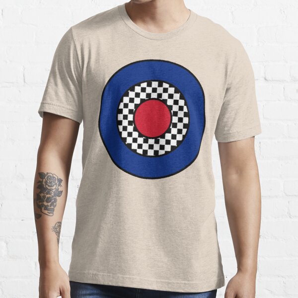 MOD Target Chequered  Essential T-Shirt