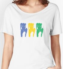 Triple Nipple  Women's Relaxed Fit T-Shirt