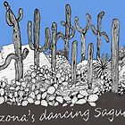 Dancing Saguaro Cactus by James Lewis Hamilton