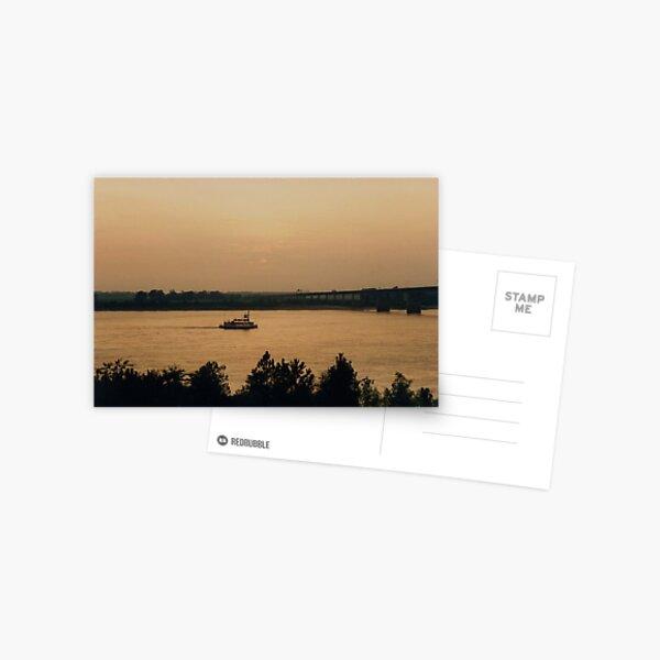 Mississippi Steamer Postcard
