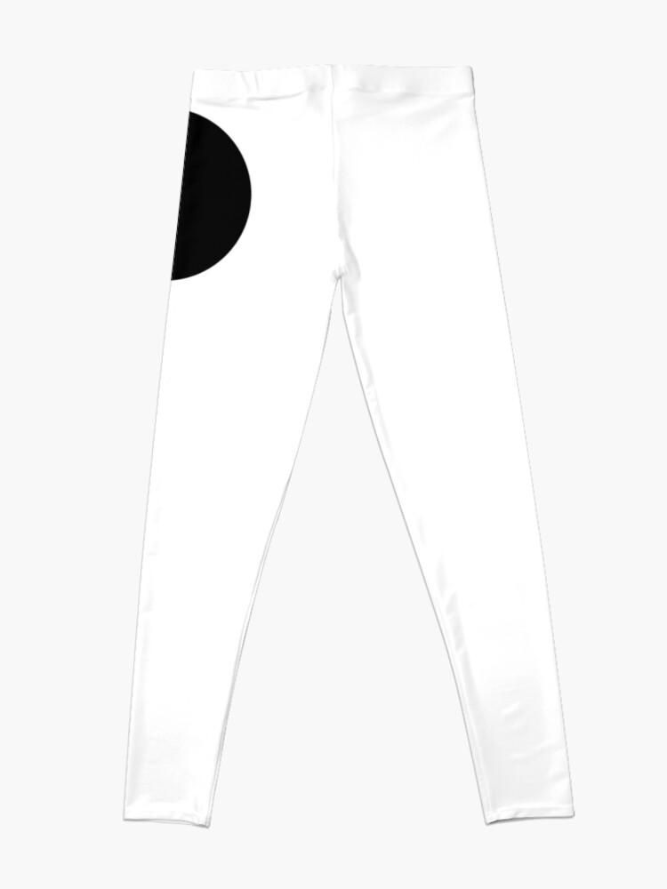 Alternate view of BLACK, CIRCLE, SPOT, RING, TEAM, SPORT Leggings