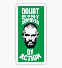 Conor Mcgregor action Sticker