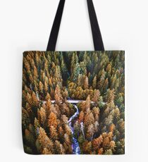 forest in the yosemite  Tote Bag