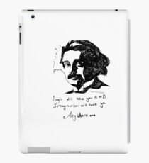 Einstein says it best.  iPad Case/Skin