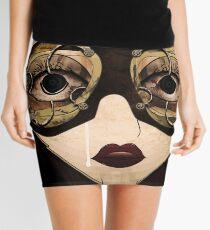 The girl Mini Skirt