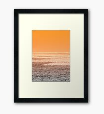 Golden Sunshine Framed Print