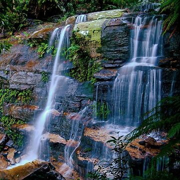 Flatrock Falls, Valley of the Waters by eschlogl
