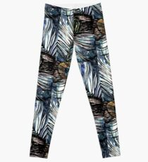 Peacock Abstract Leggings