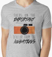 Life is Like a Camera Men's V-Neck T-Shirt