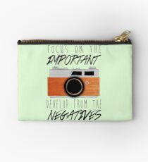 Life is Like a Camera Studio Pouch