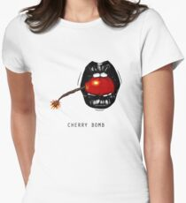 Cherry Bomb Women's Fitted T-Shirt