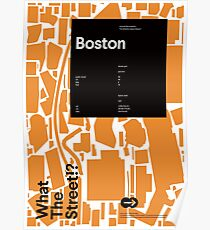 What the Street!? Boston! Poster