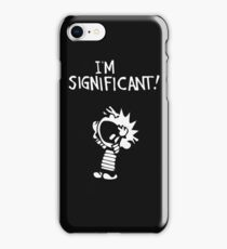 calvin hobbes-logo iPhone Case/Skin