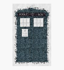 The Timey Wimey of The Doctor Photographic Print