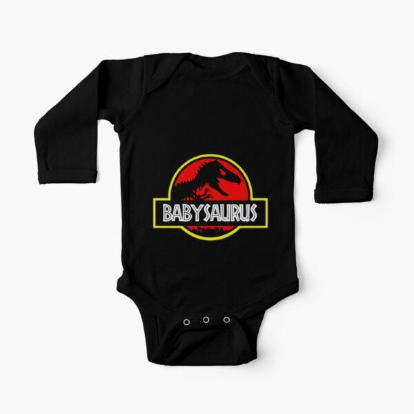 Babysaurus Rex - Funny Long Sleeve Baby One-Piece