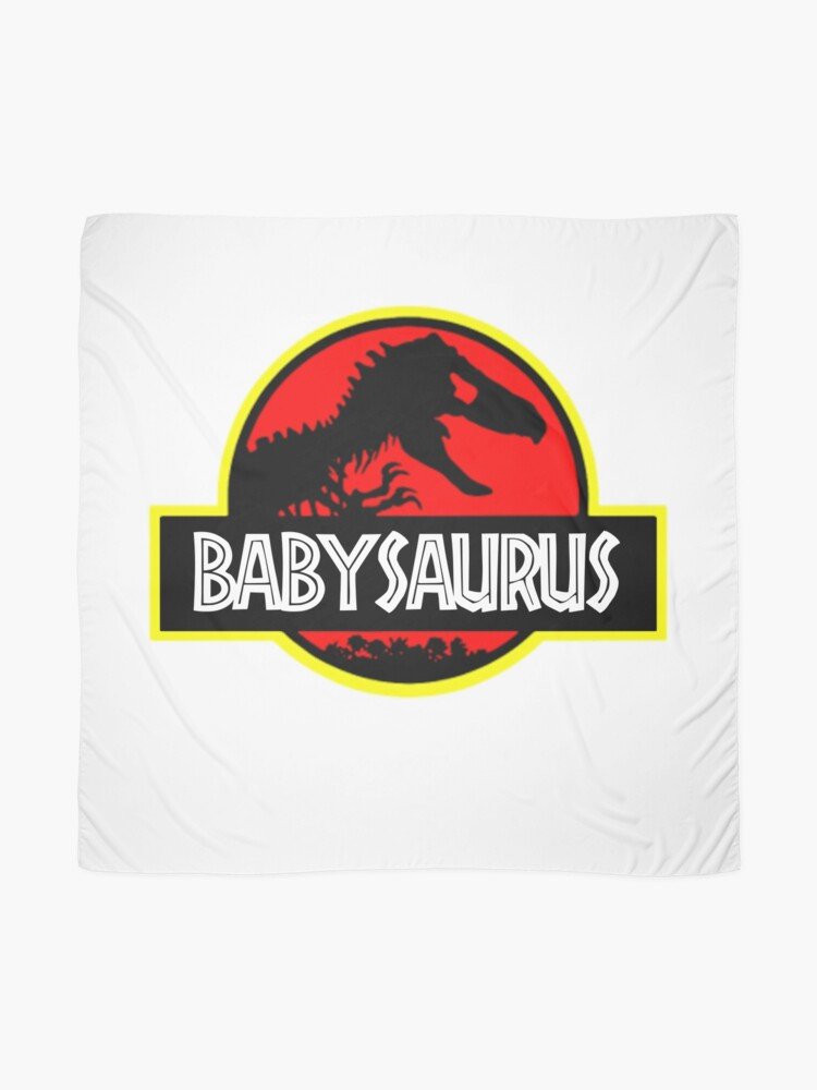 Alternate view of Babysaurus Rex - Funny Scarf