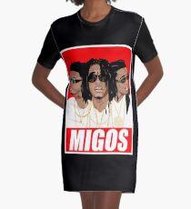 rap trio Graphic T-Shirt Dress