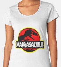 Mamasaurus Rex - Mothers Day Gift Funny Women's Premium T-Shirt