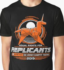 Equal Rights for Replicants Graphic T-Shirt