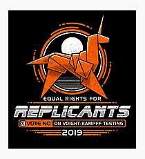 Equal Rights for Replicants Photographic Print