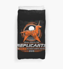Equal Rights for Replicants Duvet Cover