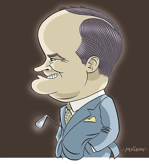 Bob Hope by MacKaycartoons