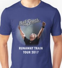 RUNAWAY TRAIN TOUR 2017 - BOB SEGER & SILVER BULLET BAND T-Shirt