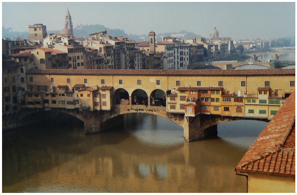 Ponte Vecchio in Florence by avocet