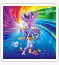 my little pony twilight n friends Sticker
