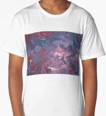 Acrylic Pouring Long T-Shirt