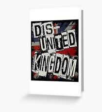 DisUNITED KINGDOM Greeting Card