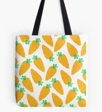 Carrotty Carrots Pattern | Transparent Tote Bag