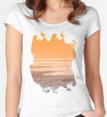 Golden Sunshine Women's Fitted Scoop T-Shirt
