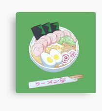 Naruto Ramen Bowl Clear Background Canvas Print